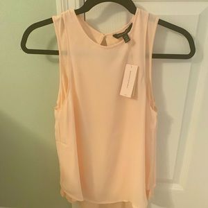 NWT!! Banana Republic Blush Sleeveless Blouse